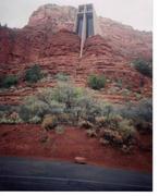 Sedona Arizona red rock church