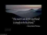 Thoreau message