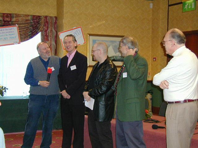 Panel - Harry Norman, Barry Winbolt, Michael Hjerth, Hans-Peter Korn, Ron Banks