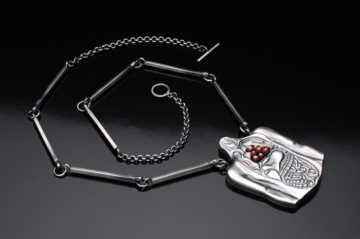 """""""When There is Nothing Left to Burn..."""" Neckpiece"""