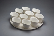 Platter with 10Cup/Bowls