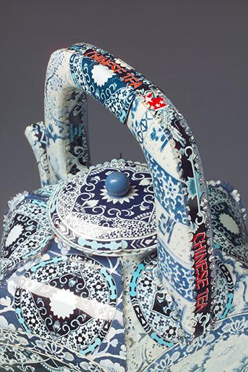 Boston Chinese Tea                    from  The Imposter Series            © 2005   Harriete Estel Berman
