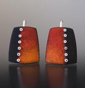 Red Orange with bead