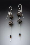 Spikey Bead Earrings