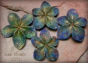 bluegreenvintageflorabeads