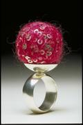 pink scoop ring