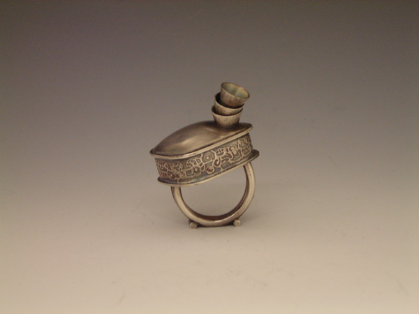 Tzab'ek Rattle Ring