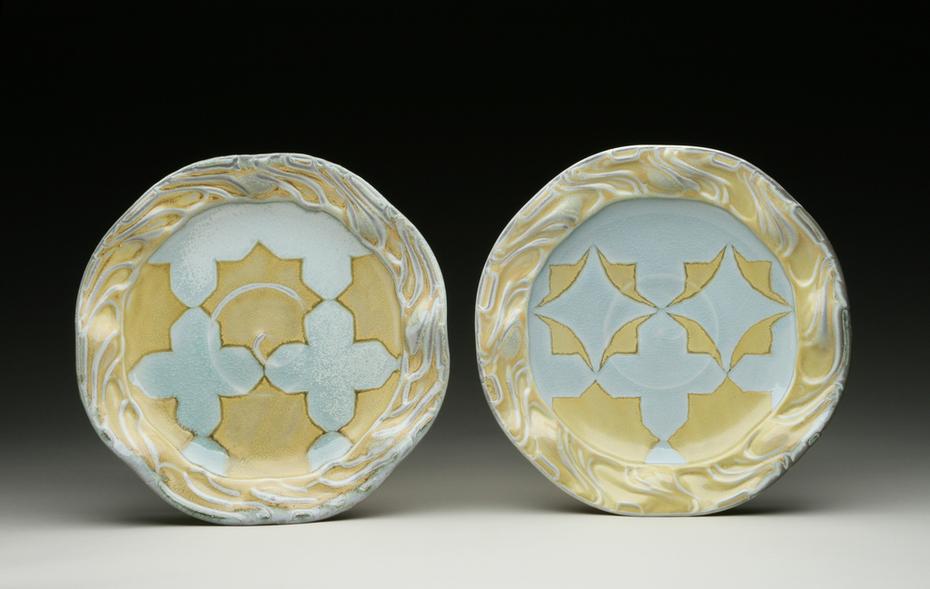 2. Yellow Star-Cross Plates 2008