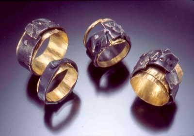 Shibuichi 18ky Rings