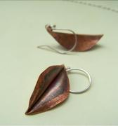 foldformed Leaves Earrings