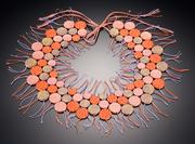 Bonnard disk necklace