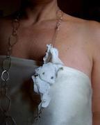 Multi-use Fused Plastic Necklace