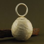 Sonorous pod ring (egg)