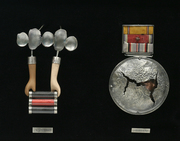 Civilian Medals: Artistry and Disease Detail