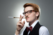 Tools for Sophistication - Cigarette Holder with Moustache