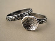 Fine and Sterling Silver Stacking Rings