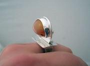 Oregon Opal Ring