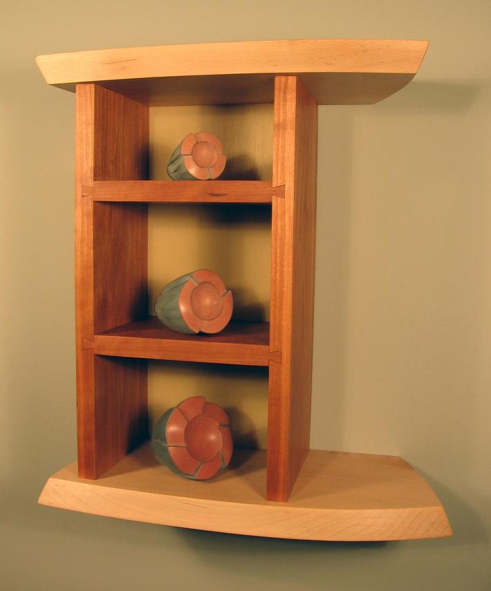"""Botanical Objects"" cabinet"