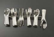 Hands of Unplenty. Brooch 2011