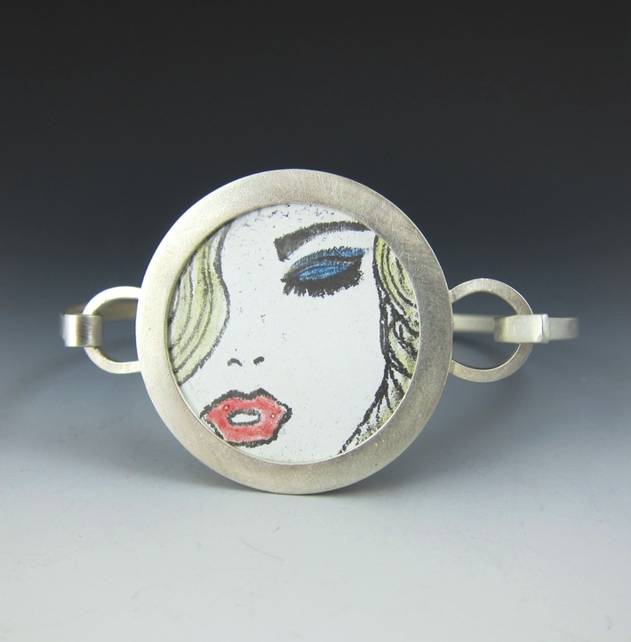 """Bracelet from the """" Many Faces of Eve"""" series"""