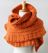 Hand-knit Merino Wool Shawl