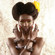 Layered Acrylic Jewelry