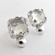 Faceted Clear Quartz Crystal