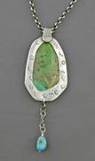 Acrylic skin pendant