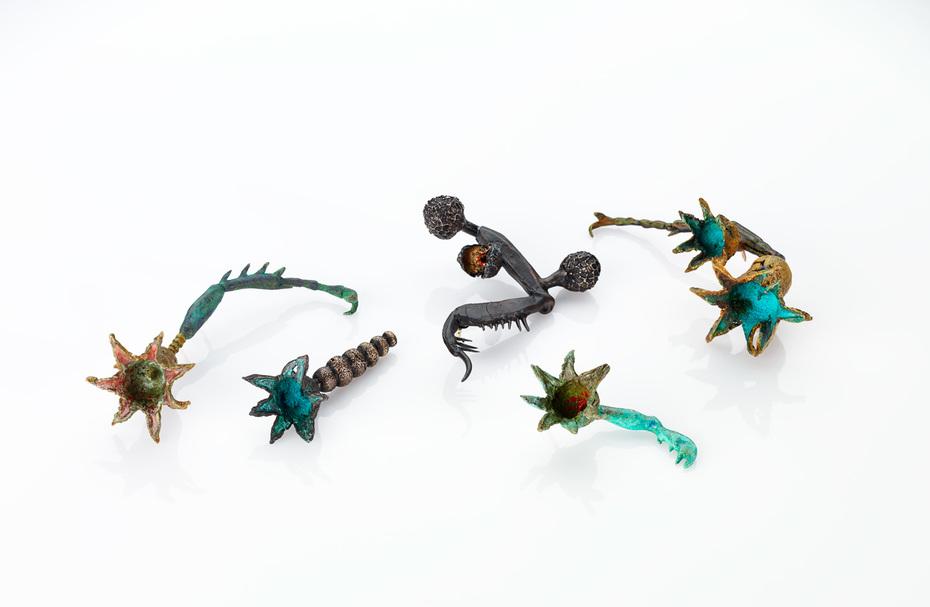 Flora + Fauna Hybrid Brooch Series