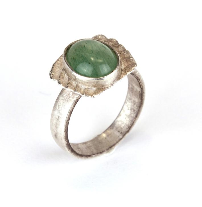 Jade Cuttlefish Ring