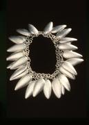 Silver Wreath Necklace