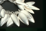 Silver Wreath Necklace (Detail)