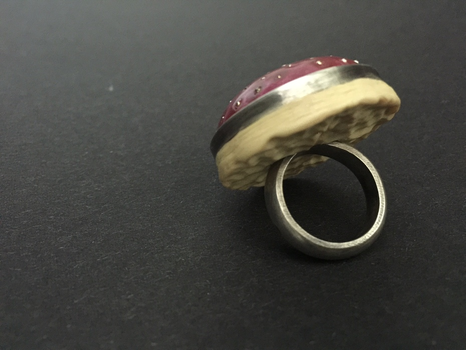The Pomegranate Ring detail