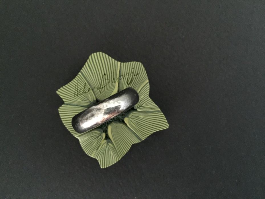 The Gardenia Ring detail