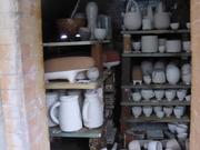 Wood kiln packed