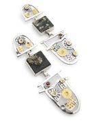 Pyrite & Slate Earrings