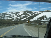 view while driving