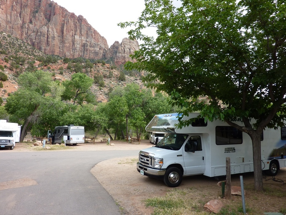 Rv park near Zion N.P.