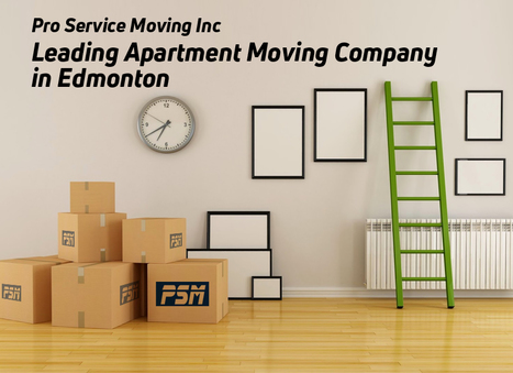 Pro Services Moving Inc - Leading Apartment Moving Company in Edmonton