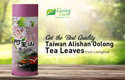 Get the Best Quality Taiwan Alishan Oolong Tea Leaves from LivingZest