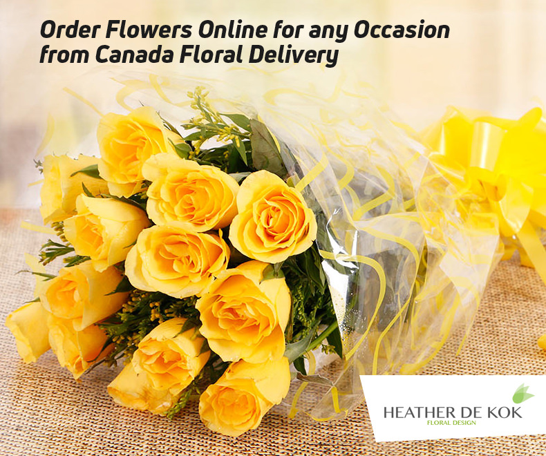 Order Flowers Online for any Occasion from Canada Floral Delivery