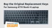 Buy the Original Replacement Keys for Samsung ATIV Book 4 Laptop