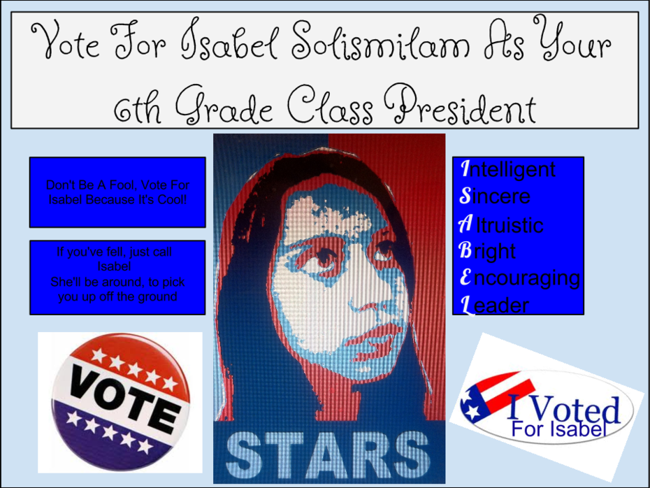 Student Council Election Poster 2