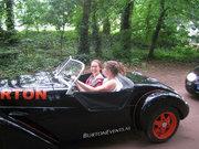 Cabriotour: Karen de Jager en Fiona in de Burton