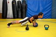 Thaibokser Ben Berghman - Kops Gym