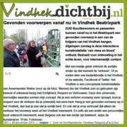 Vindhek com In de MEDIA