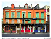 Early Morning in the New Orleans French Quarter