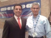With Hector Barreto, Latino Coalition chairman. Formerly, the SBA Admistrator. (Plano,TX 2/19)