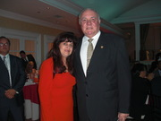 Esperanza Paternina & Vice-President of Peru at Fiesta US-Peru Chamber of Commerce Gala