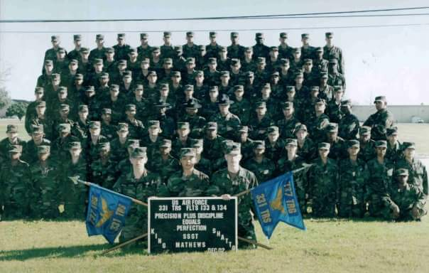 US Air Force Boot Camp 331st TRS FLights 133 & 134